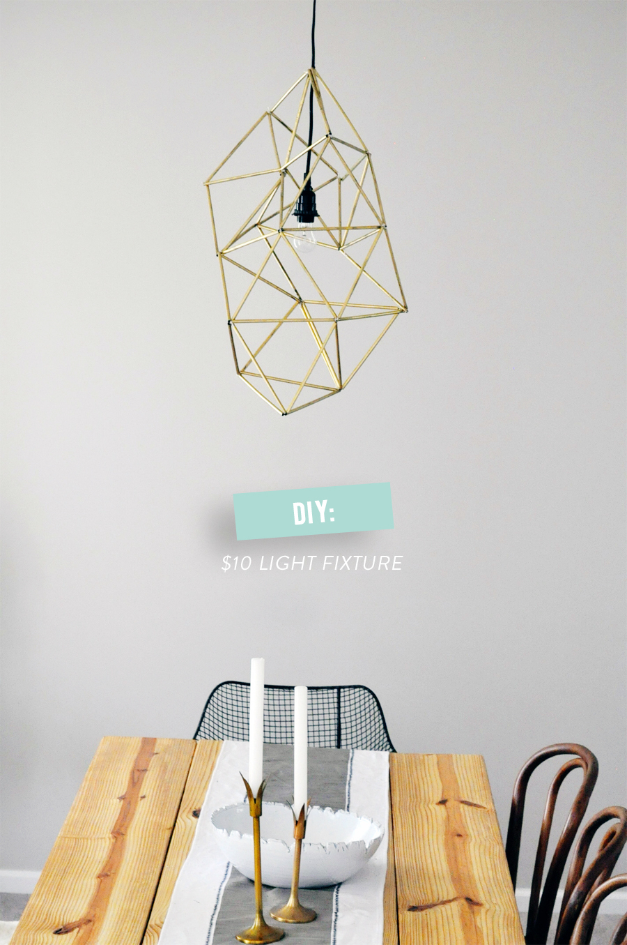 Pneumatic addict 30 diy modern lighting ideas for Dodecahedron light fixture