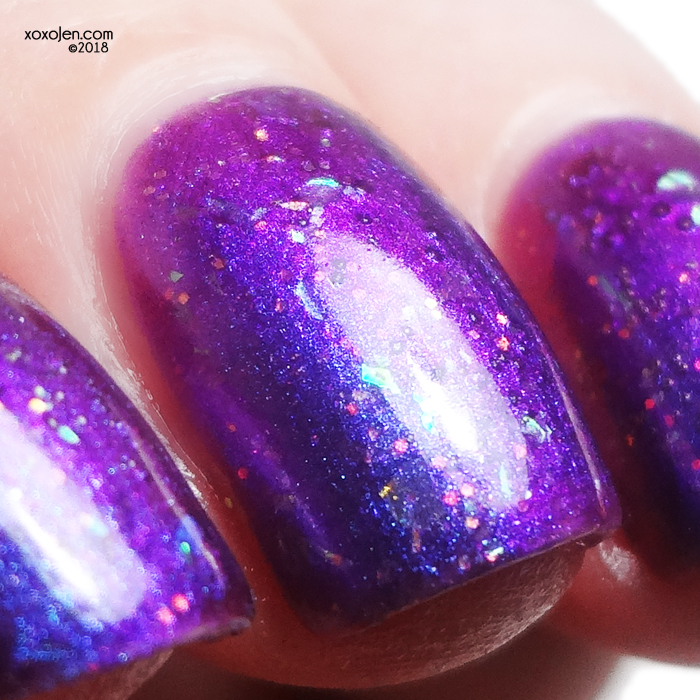 xoxoJen's swatch of Girly Bits: Law of Attraction