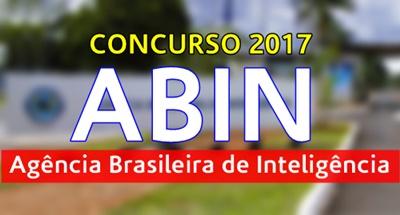 Concurso ABIN 2017