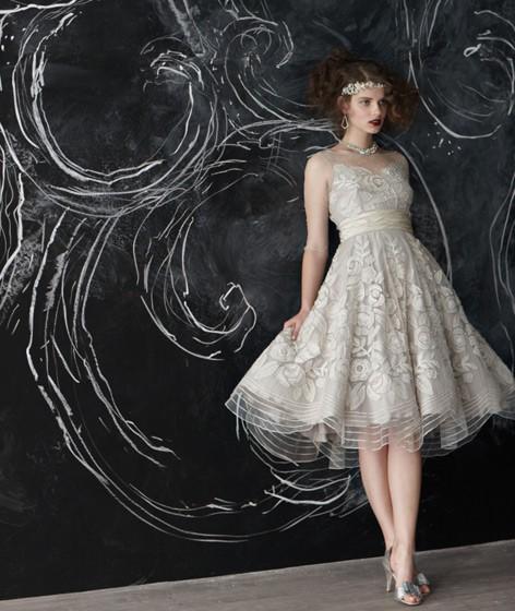 Wedding Gowns For Less: Wedding Ideas AU: Cocktail Style Wedding Dress
