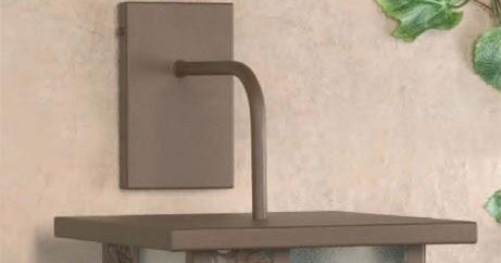 Muebles de forja faroles y aplique de iluminaci n para for Faroles para iluminacion exterior