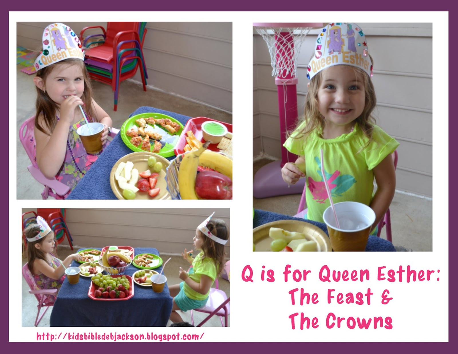 Bible Fun For Kids Preschool Alphabet Q Is For Queen Esther