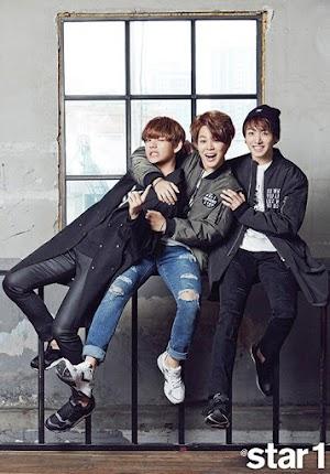 [Terjemahan BTS Rolling Paper] Jimin, V, & Jungkook (VMinKook/Maknaeline) Rolling Paper