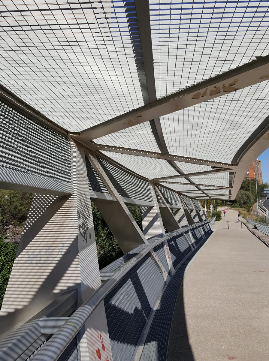 The Happy Pontist: Spanish Bridges: 1  Paloma Footbridge, Madrid