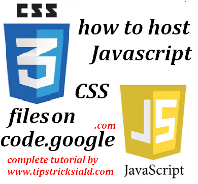 How to Host JavaScript CSS file