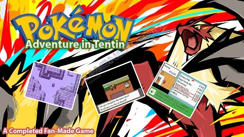 Pokemon Adventure in Tentin