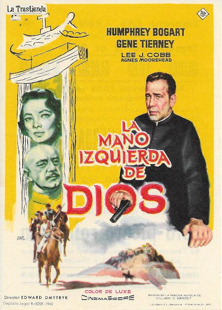 La Mano Izquierda de Dios - Programa de Cine - Gene Tierney - Humphrey Bogart