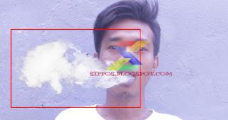 tutorial cara membuat asap rokok berwarna dengan contoh gambar