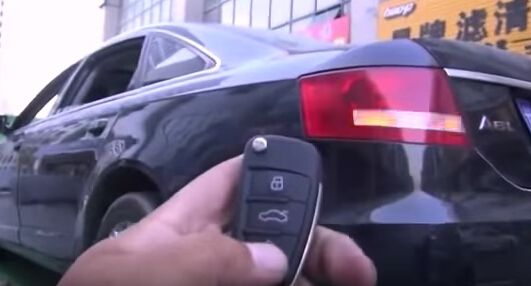 How to use VVDI2 Commander and VVDI PROG to make a new key for Audi A6L-10