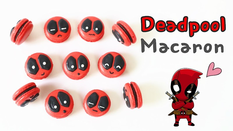 Deadpool Macaron 死侍馬卡龍