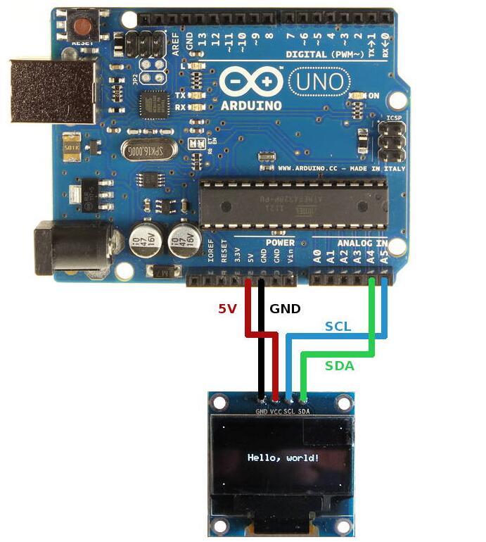 oled arduino - arduino oled 128×32