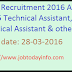 DRDA Recruitment 2016 Apply for  55 Technical Assistant, Statistical Assistant & other posts