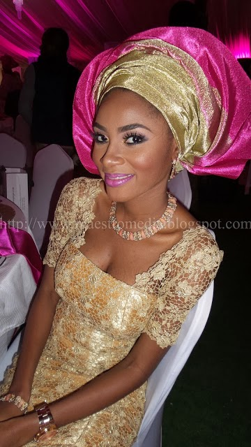 Stella Dimoko Korkus com: Tiwa Savage/Teebillz Balogun Traditional