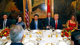 President's Trump and Xi dine in Florida during a time when the chefs are caught violating the food code that could have led to foodbourne illness.