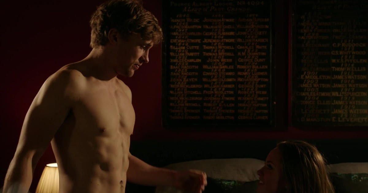 Narnia's william moseley shows some skin