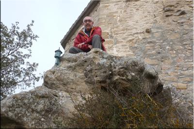 San Formerio mendiaren gailurra 752 m. -- 2017ko otsailaren 24an