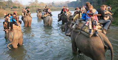 Taman Nasional Chitwan, Nepal