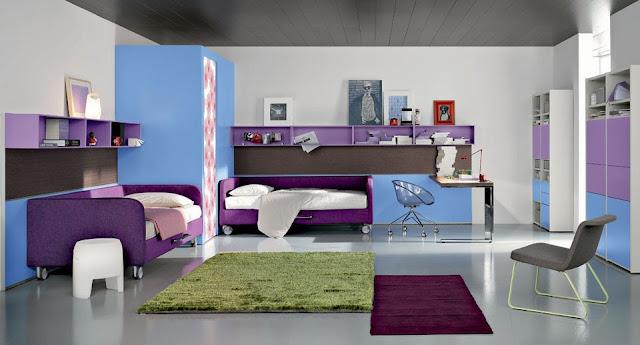 id e d co chambre adolescent. Black Bedroom Furniture Sets. Home Design Ideas