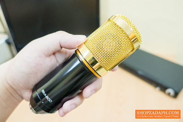 bm 800 condenser microphone review