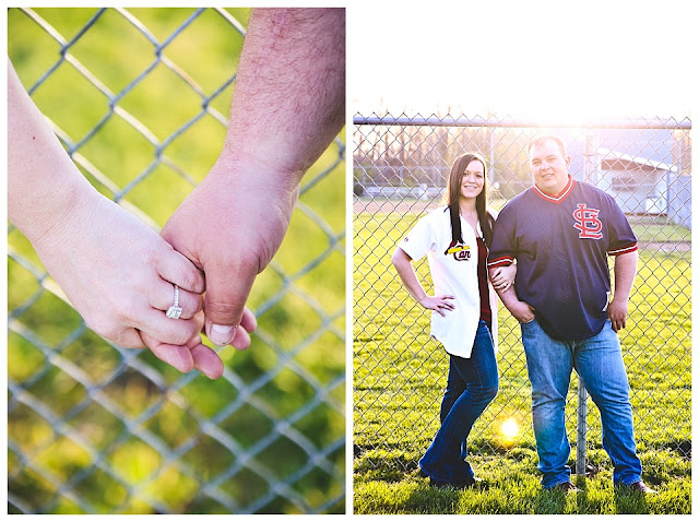 engagement session at St. Mary-of-the-Woods College
