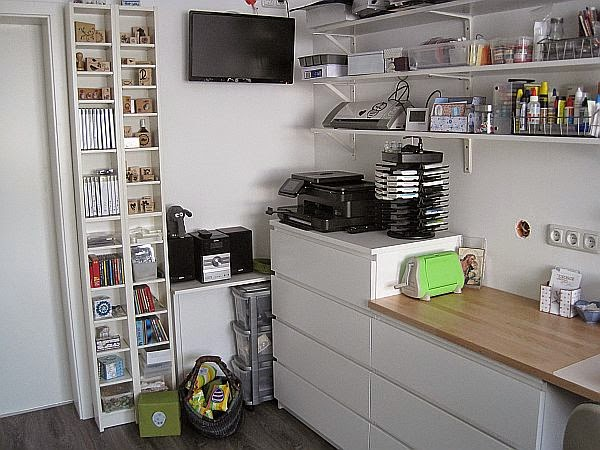 helgas kerzen und kartenzauber mein neues studio. Black Bedroom Furniture Sets. Home Design Ideas