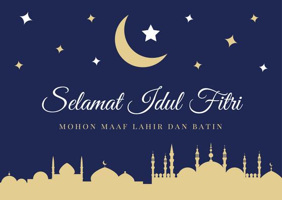 Kumpulan Gambar Instagram Ucapan Lebaran Idul Fitri 1441 H 2020