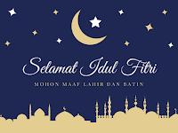 Kumpulan Gambar Foto Instagram Ucapan Lebaran Idul Fitri 1439 H 2018/2019