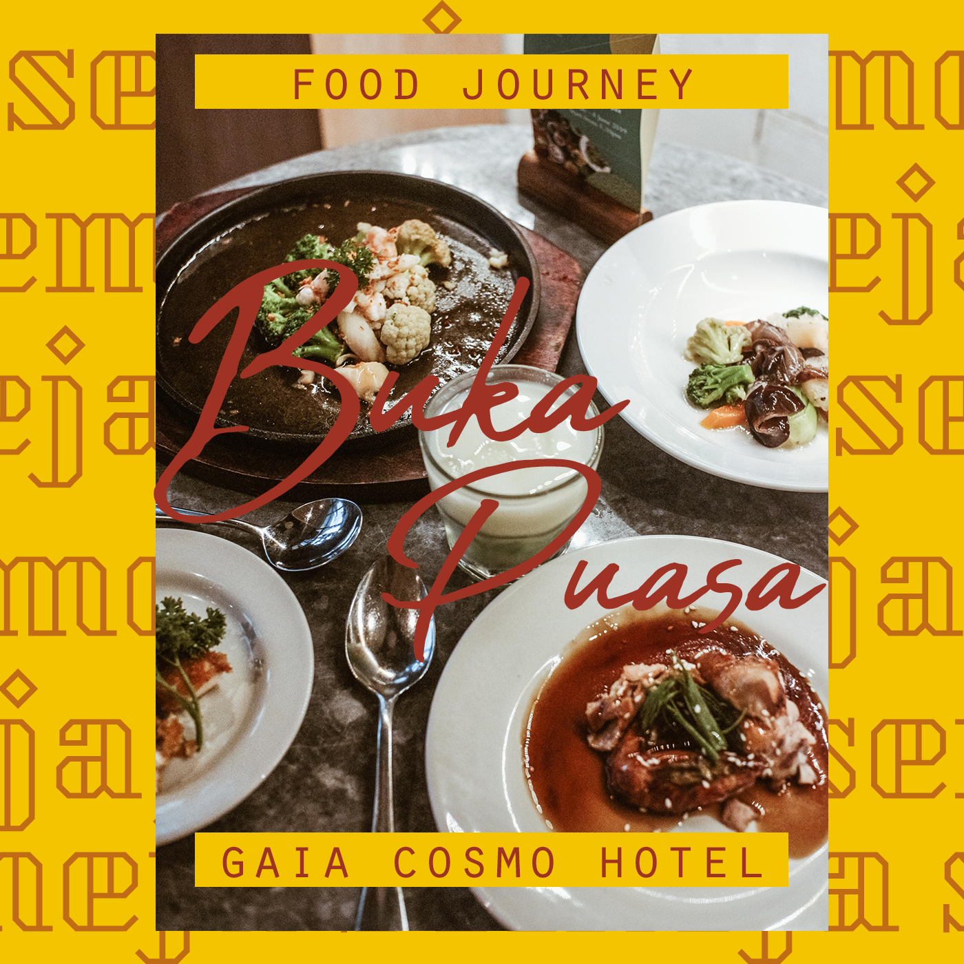 all you can eat gaia cosmo hotel jogja