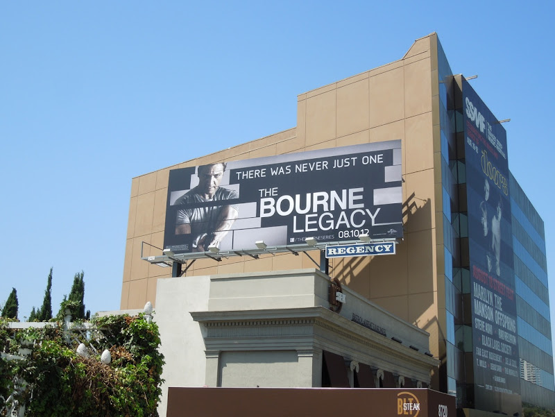 Bourne Legacy movie billboard