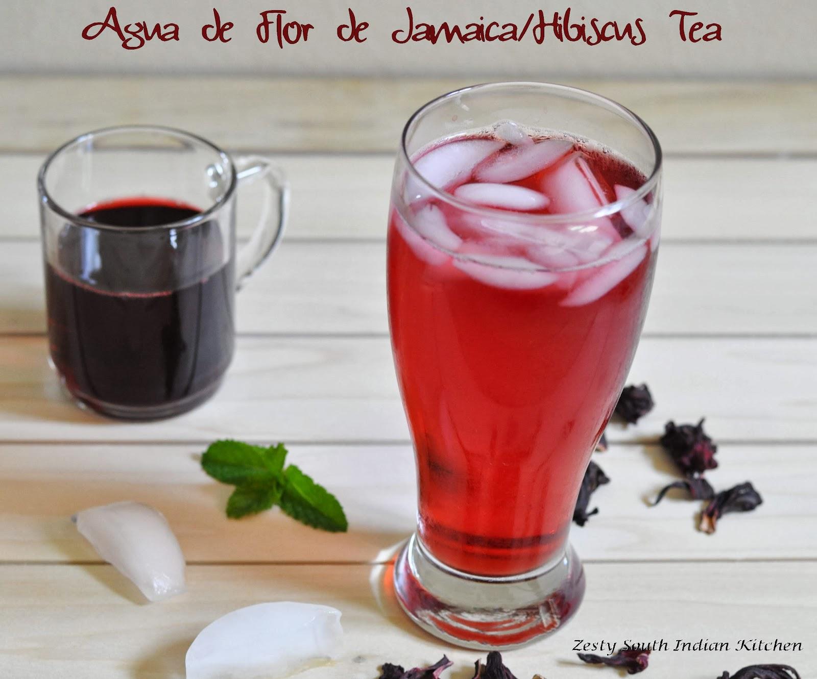 Agua Flor De Jamaicaagua Fresca Flor De Jamaicahibiscus Tea