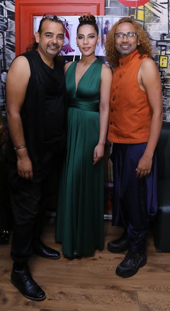 Buzy, Tara Viva & Ajay Sinha
