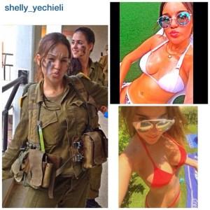 foto seksi tentara wanita israel instagram