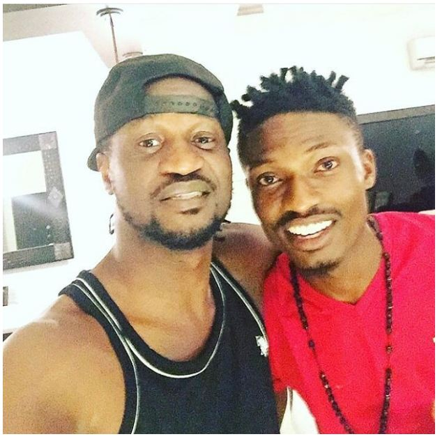 #BBNaija: Efe is Going Places, Hangs Out With Peter Psquare (Photos)