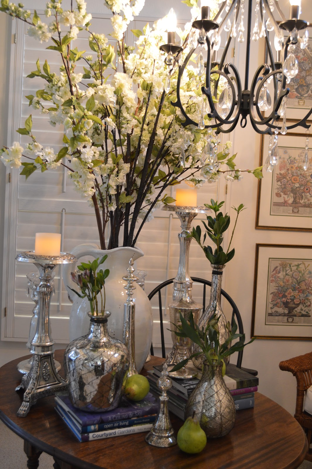 Decorative Items For Living Room: Friendship, Life And Style: Winter Into Spring Decor