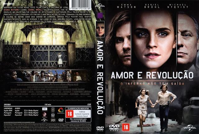 Capa DVD Amor e Revolução