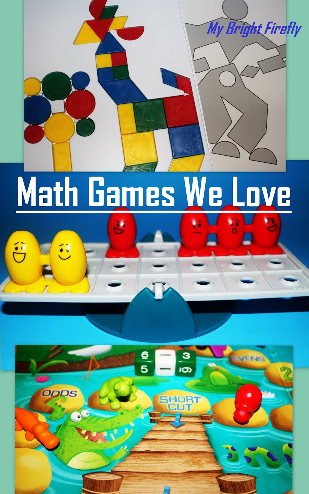 My Bright Firefly: Math Games We Love for Preschool to Second Grade