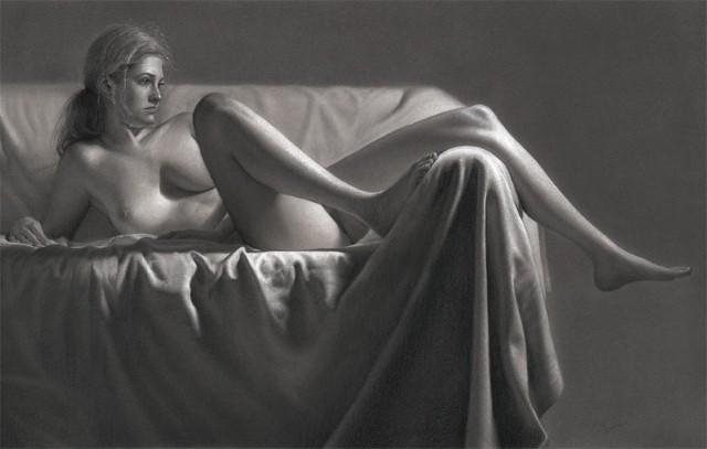 Реалистичные рисунки карандашом. Dirk Dzimirsky