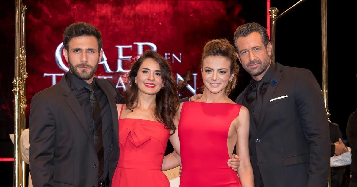 Accidente De Actores De Televisa >> Caer en tentación, fotos de la presentación - Más Telenovelas
