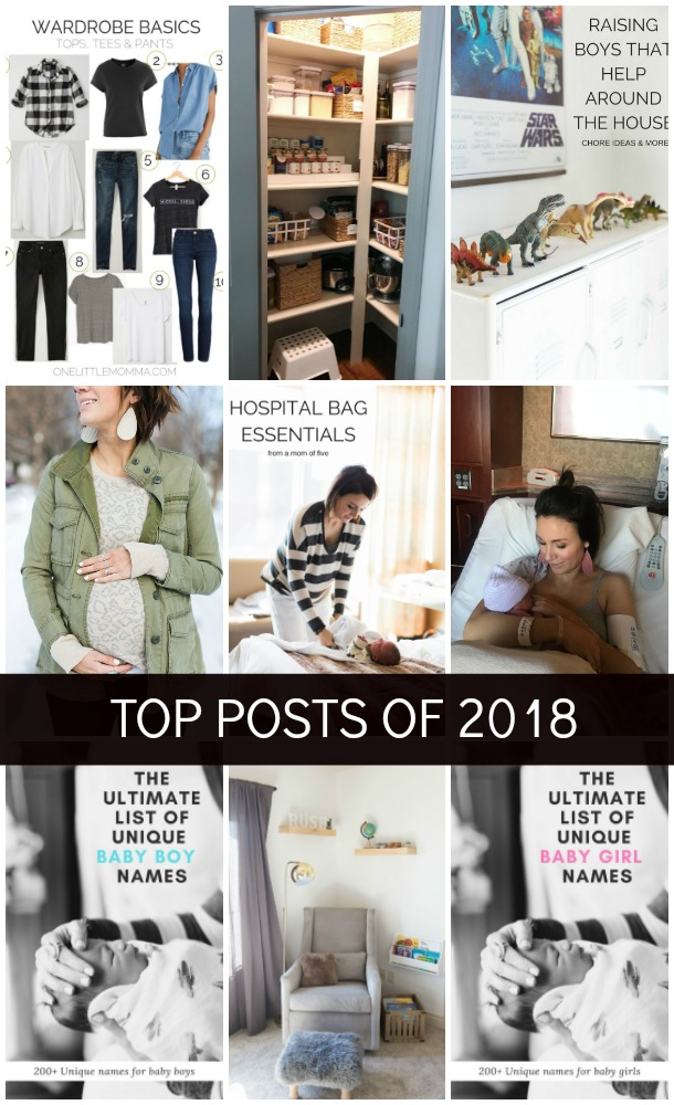 One Little Momma - Top Posts of 2018