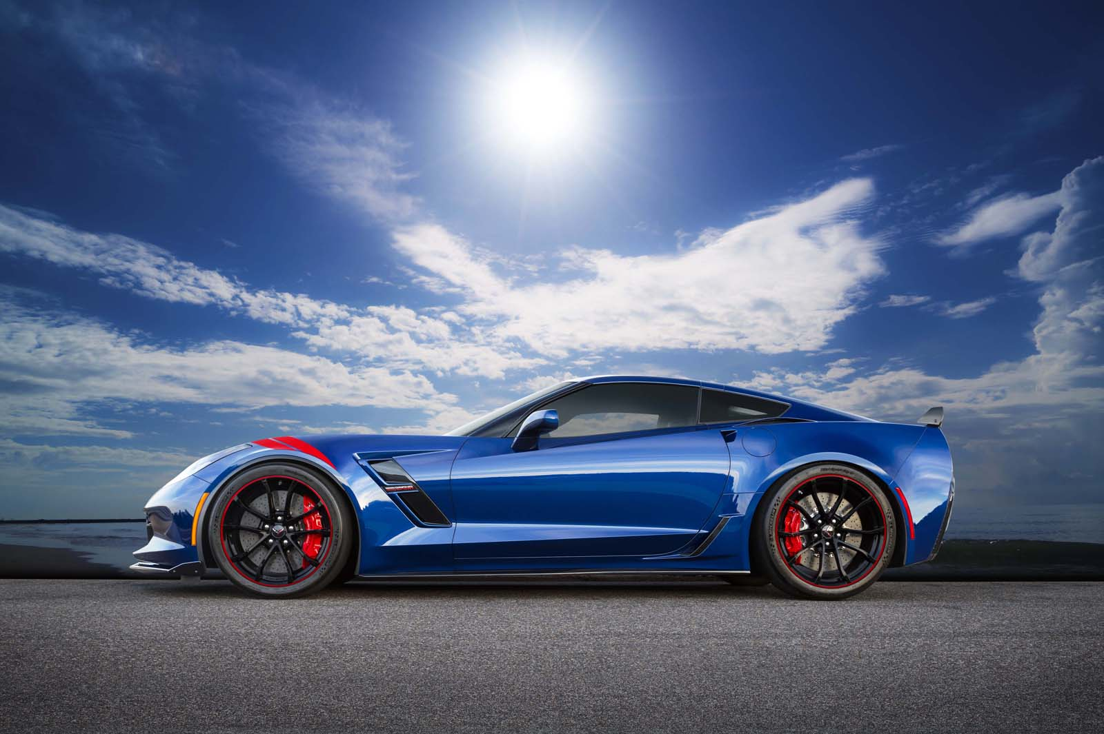 Corvette Grand Sport Gets Special Admiral Blue Heritage Edition In Japan | Carscoops