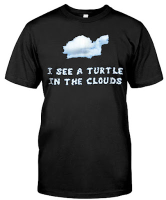 I See a Turtle in the Clouds T-Shirts Hoodie Sweatshirt