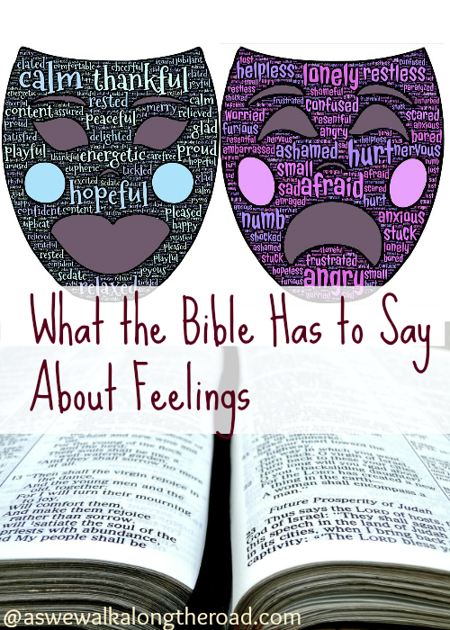 Bible verses about feelings