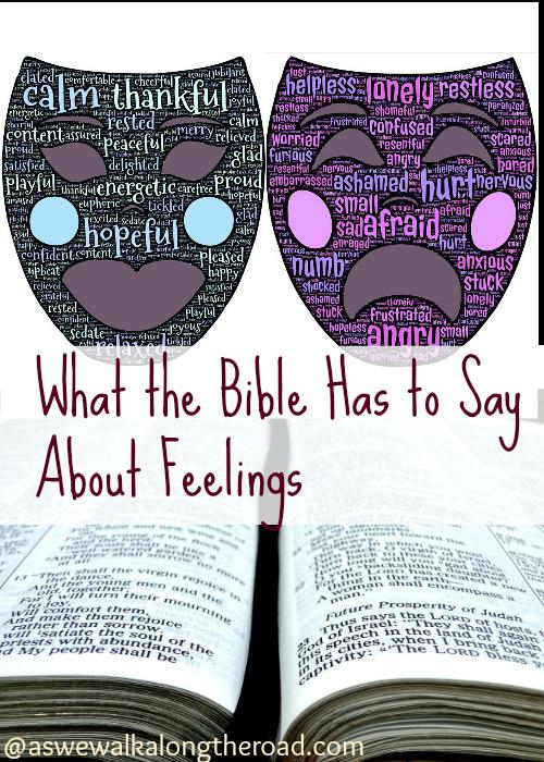 Bible verses about feelings