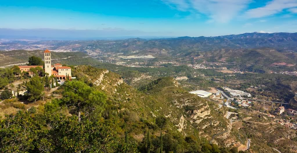 Vistas La montaña de Montserrat, Barcelona