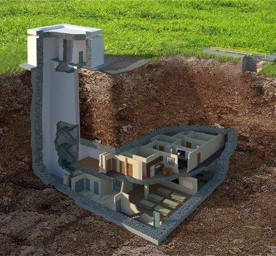 Abrigos Subterrâneos