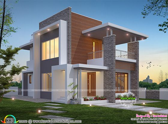 2250 sq-ft 4 bedroom contemporary home