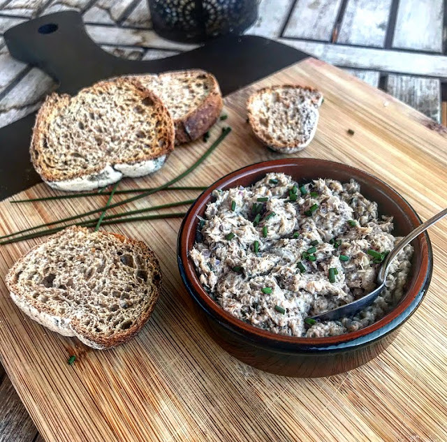 Rillettes de sardines version healthy Charlotte and cooking