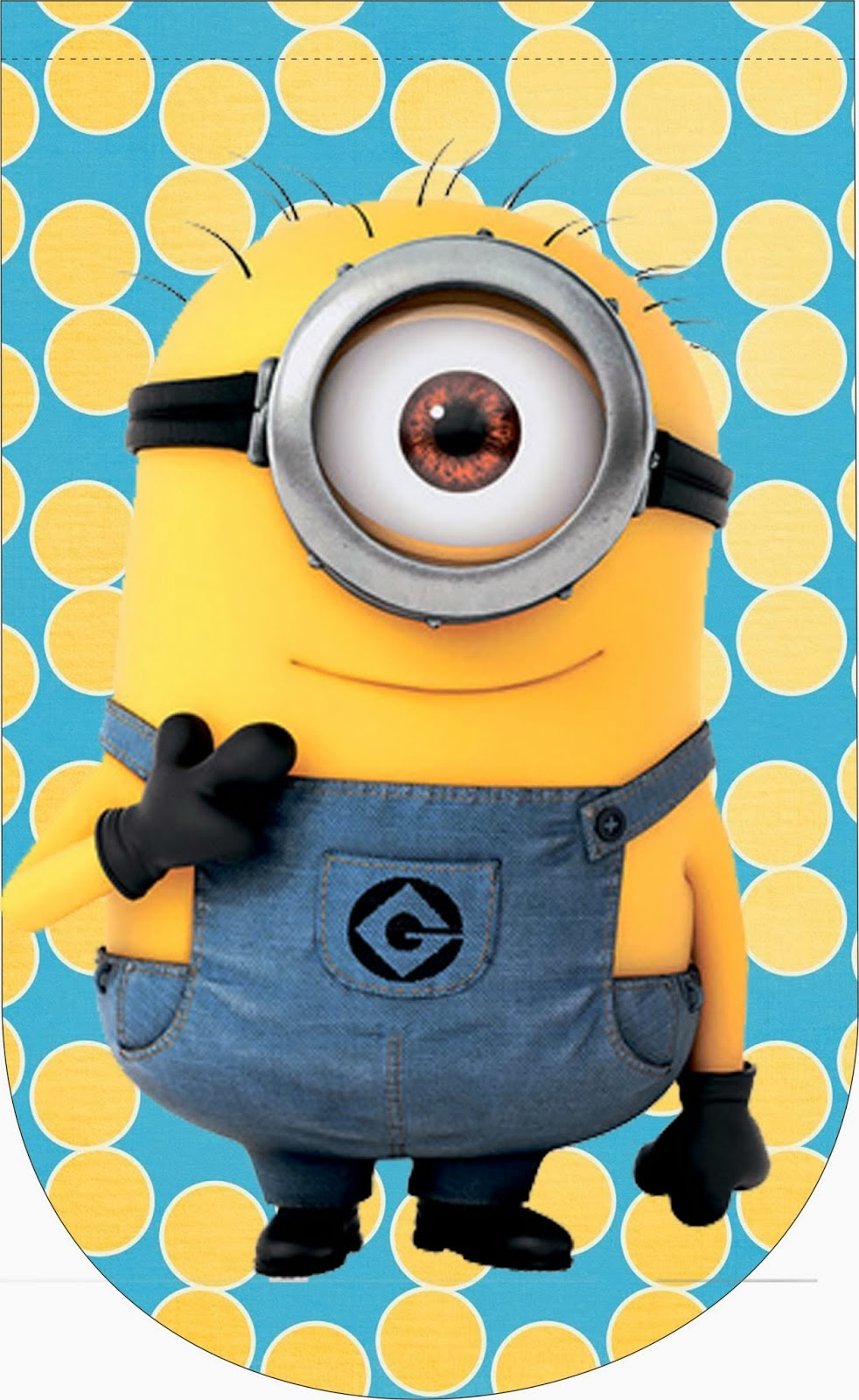 Despicable me 2 free party printables and images oh my - Photo de minion ...