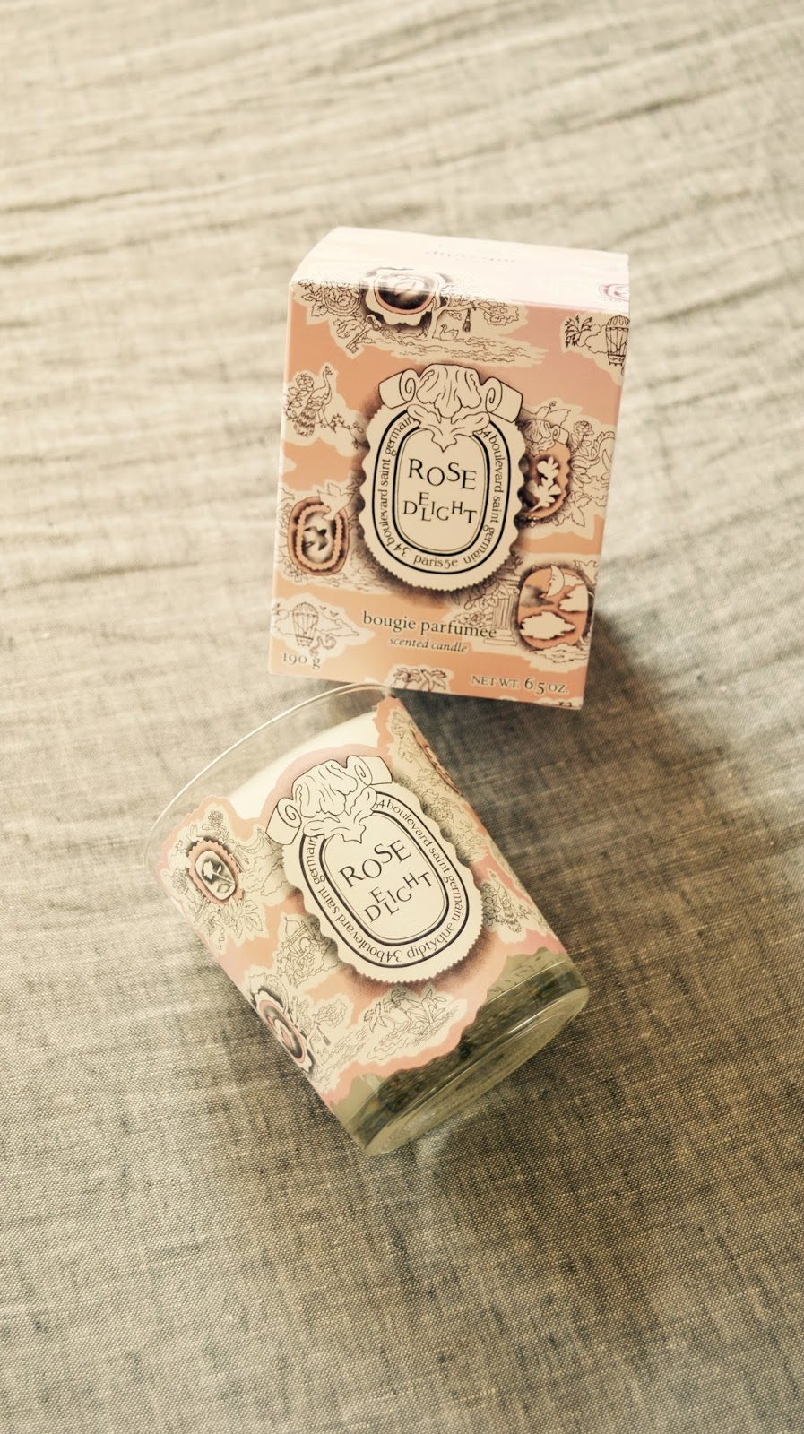 Diptyque: Rose Delight Candle