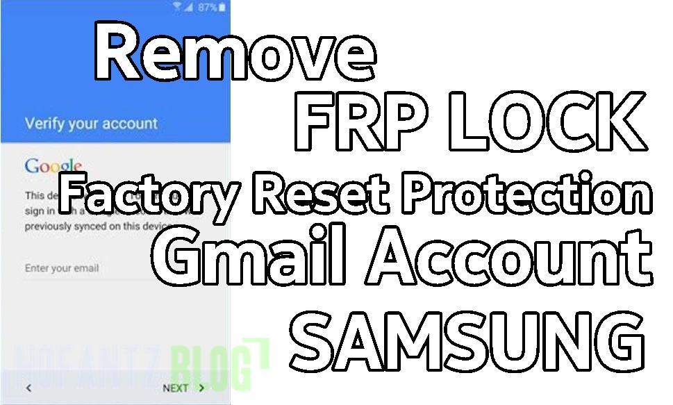 Mudahnya menghapus FRP Samsung SM-J111F